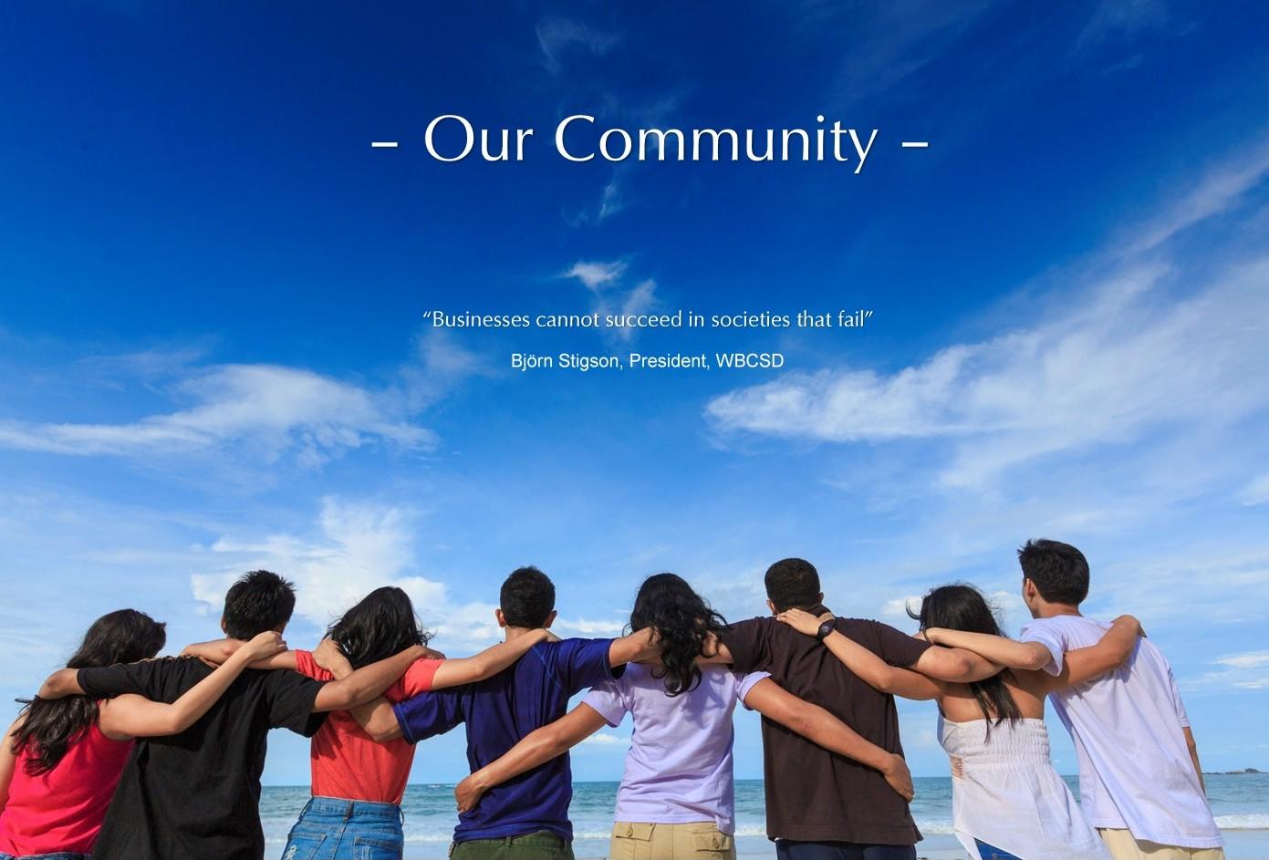Our Community EDIT