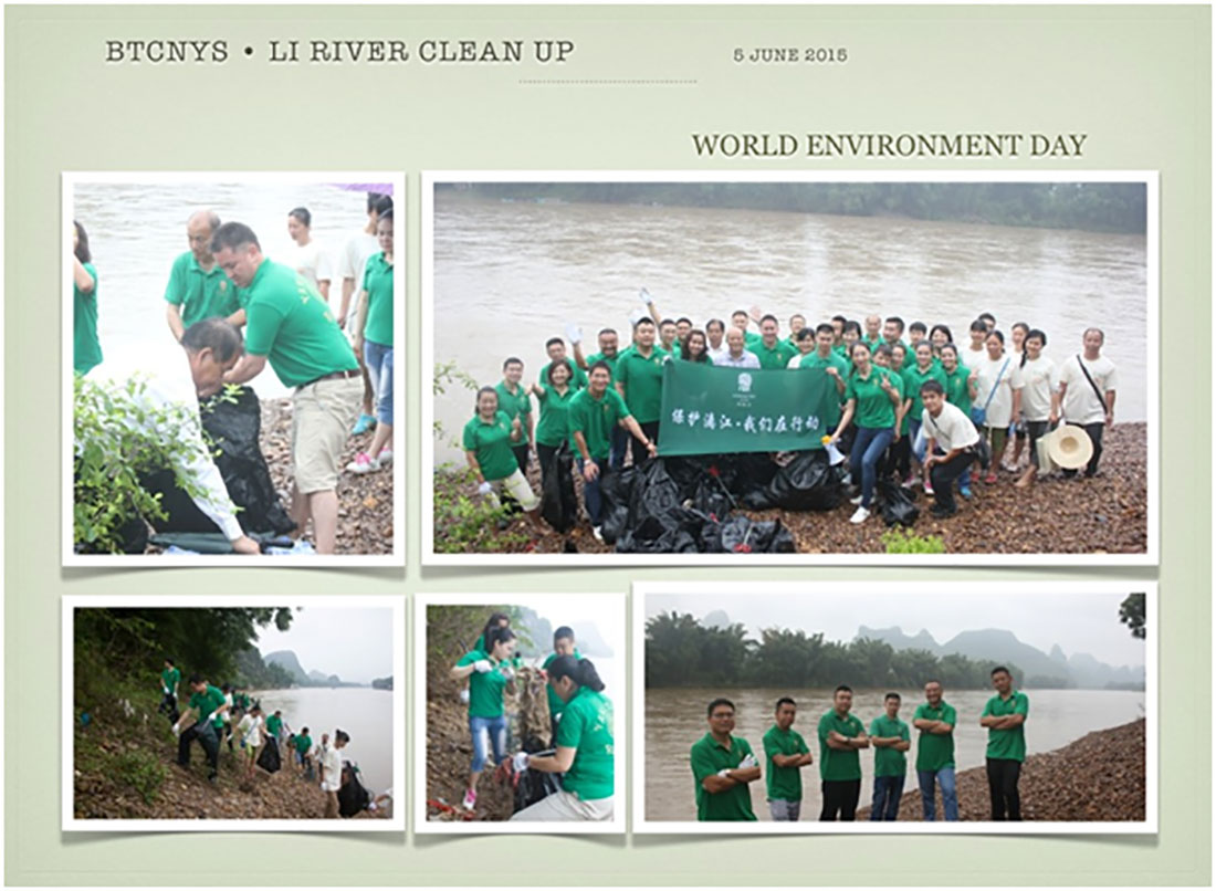 Li River Clean Up – World Enviornment Day